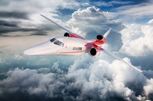 Recreación del futuro Aerion AS2.