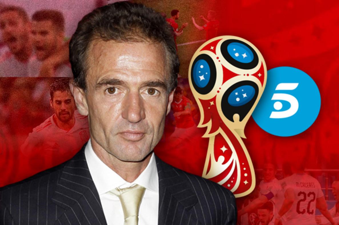 EXCLUSIVA | Alessandro Lecquio, fichaje de última hora de 'Ahora, la mundial', el 'chiringuito' de Telecinco