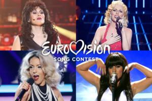 Los 7 concursantes de 'Tu cara me suena' que también participaron en el Festival de Eurovisión