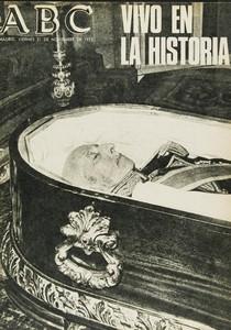 40 aniversari de la mort de Franco. Portades de premsa.