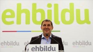 Arnaldo Otegi, coordinador general de EH Bildu