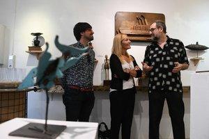 L'artista de Rubí Pep Borràs exposa una retrospectiva de la seva obra a La Claraboia
