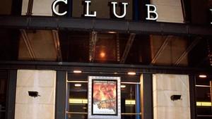 Aspecto de la fachada del local cuando recibía el nombre de Club Doré.