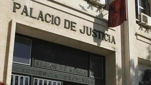 La Audiencia Provincial de Murcia.