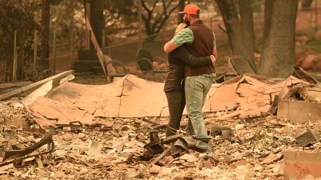 Aumenta el número de muertos en los incendios de California.