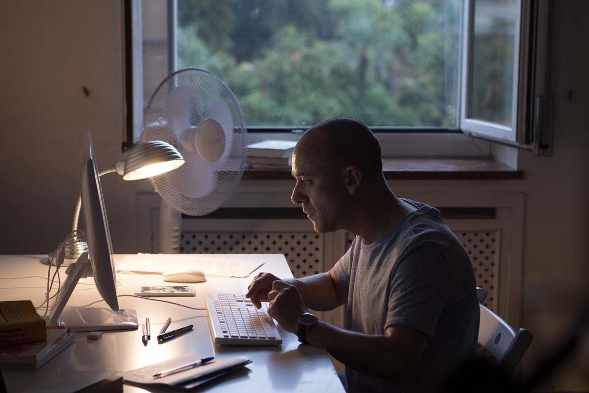 Javier Gutiérrez, en El autor.