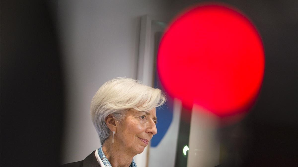 La presidentadel Banco Central Europeo (BCE),Christine Lagarde.