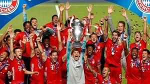 El Bayern de Munich, flamante campeón de la Champions 2020.