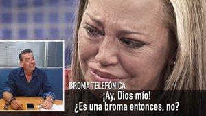 'Sálvame' fa plorar Belén Esteban amb una broma telefònica sobre el seu casament