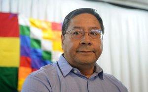 Luis Arce,candidato del Movimiento Al Socialismo (MAS) en Bolivia.