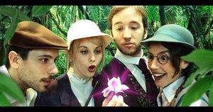 Una foto promocional con los actores de Escuela de Magia.