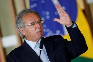Paulo Guedes, ministro de economía de Brasil.