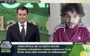 """La tajante opinión de Jordi Évole sobre el teletrabajo: """"Es lo más cerca que puede estar uno de la esclavitud"""""""