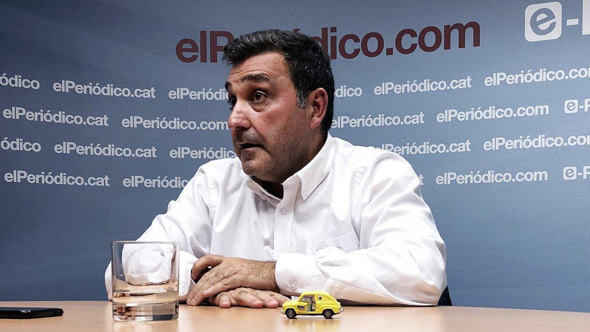 Matías Carnero, presidente del comité de empresa de Seat.