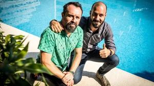 Caye Casas y Albert Pintó, en el estreno de Matar a Dios en Sitges-2017