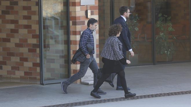 Oriol Pujol surt de la presó