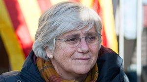 Clara Ponsatí, el 14 de noviembre del 2019 en Edimburgo.