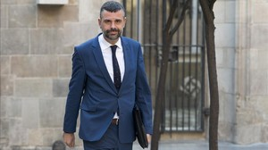 El 'conseller' Santi Vila.