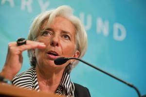 La directora del FMI, Christine Lagarde.