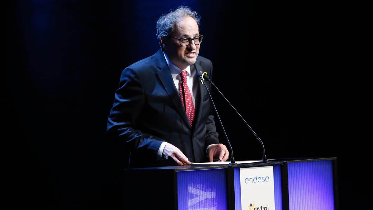 Discurso de Quim Torra, presidente de la Generalitat, en la gala del Català de lAny 2017.
