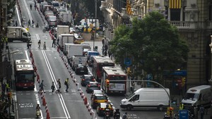 Barcelona tallarà la Via Laietana el dia sense cotxes