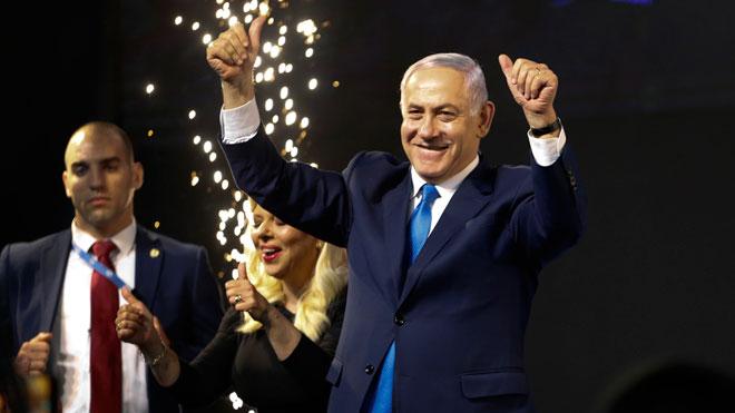 Elecciones en Israel: Netanyahu encabeza por la mínima el recuento con el 99 % de votos escrutados.