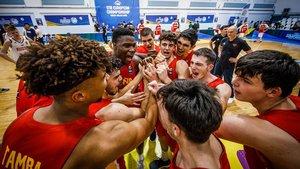 Espanya, campiona de l'Eurobàsquet sub-18