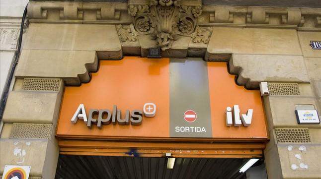 Estacion de ITV de Applus, en Barcelona.