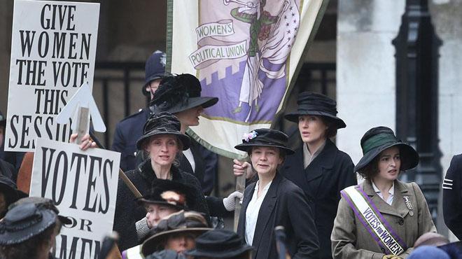 'Sufragistas': un voto en blanco