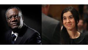 Així hem retransmès l'entega del Premi Nobel de la Pau 2018 a Denis Mukwege i Nadia Murad