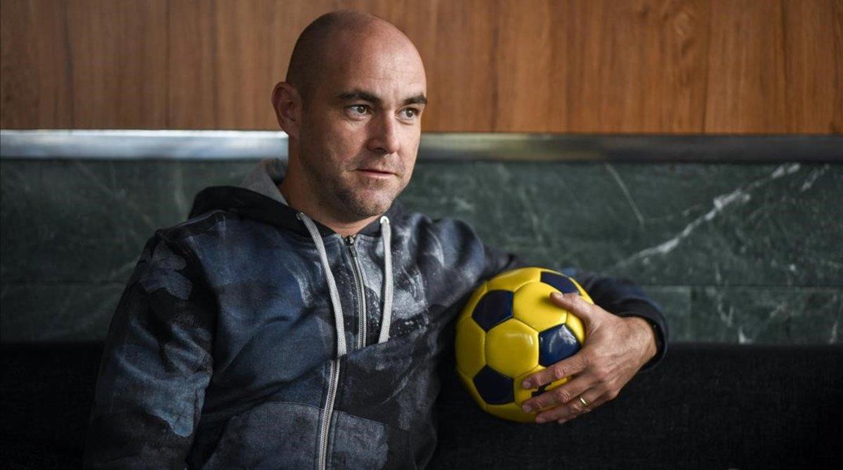 Fèlix Sánchez, el entrenador de la selección de Qatar, en la entrevista que mantuvo con El Periódico.