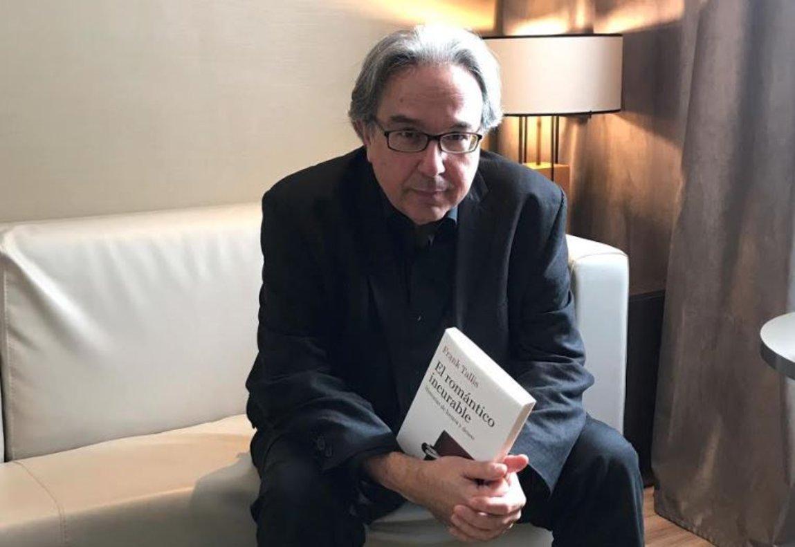 El psicólogo Frank Tallis, autor de El Romántico Incurable (Ático de los Libros, 2019).