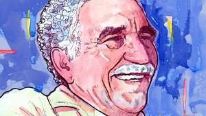 Gabriel García Márquez, en un retrato de Toño Vega.