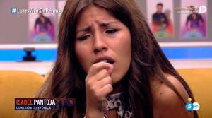 Isabel Pantoja vuelve a llamar en directo para apoyar a Chabelita en 'GH VIP'