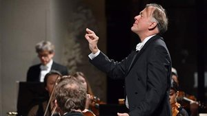 Thomas Hengelbrock, en el Palau de la Música.