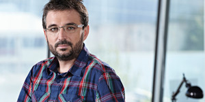 El periodista Jordi Évole, director y presentador del programa informativo de La Sexta Salvados.