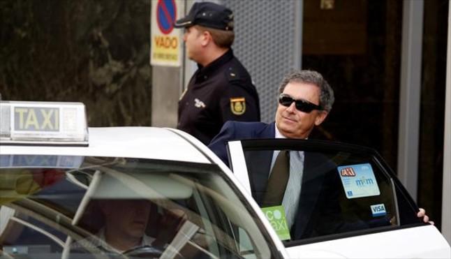 Jordi Pujol Ferrusola, a la salida de la Audiencia Nacional, el pasado 15 de septiembre.