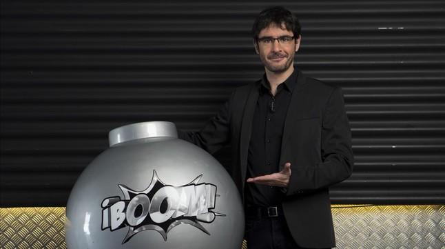 Juanra Bonet, presentador del concurso 'Boom!', en Antena 3.