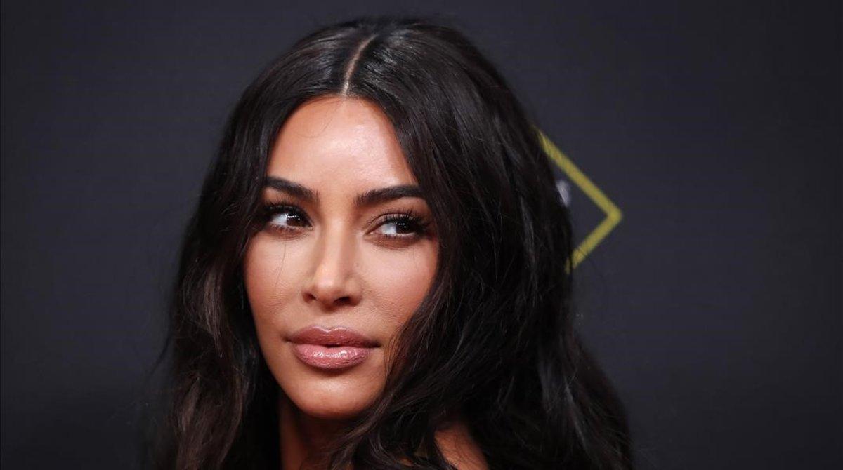 Kim Kardashian posa en los 'People s Choice Awards', en Santa Mónica, el pasado 10 de noviembre.