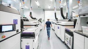 Laboratorio de impresión 3D de HPen Sant Cugat.
