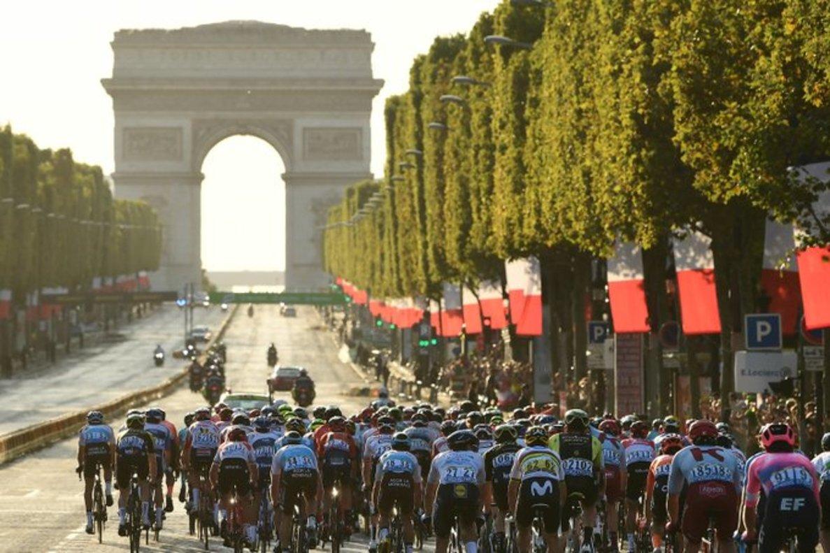 El Tour, el año pasado, en París.