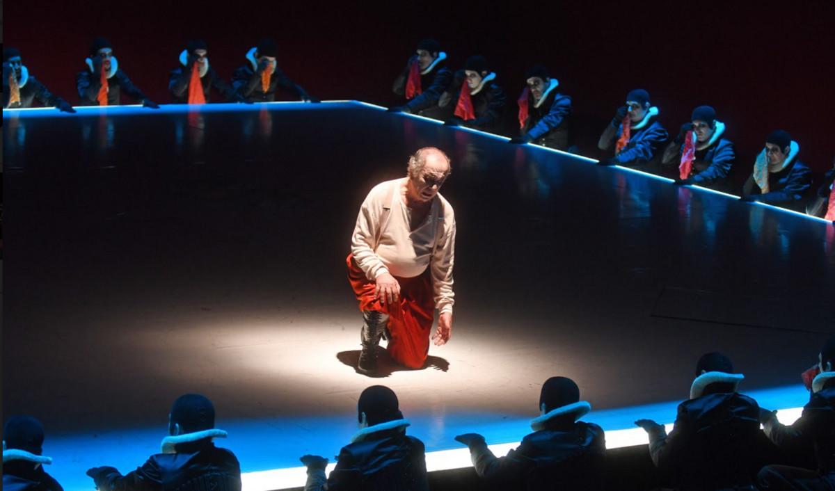 Leo Nucci, en la representación de Rigoletto en el Liceu.