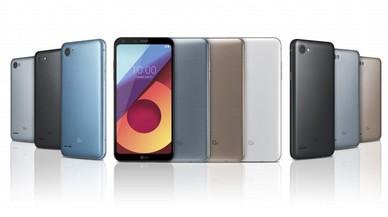 Llegan a nuestro mercado las nuevas versiones Q6 Plus y Q6 Alpha de LG