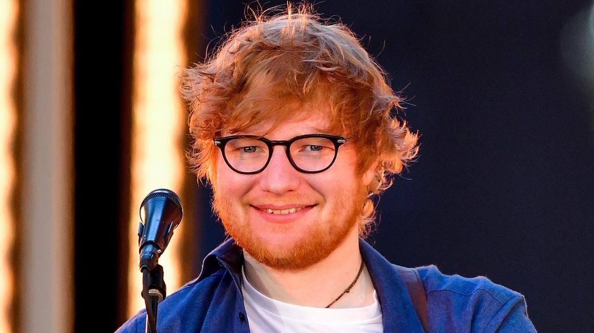 Actuación de Ed Sheeran el pasado dos de octubre