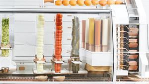 La máquina de Creator, la hamburguesería futurista de San Francisco