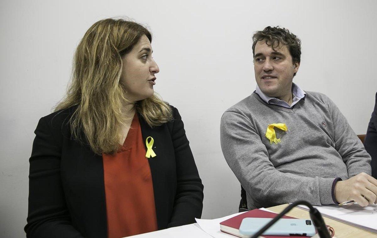 Marta Pascal y David Bonvehí