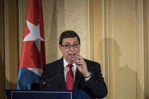 Bruno Rodríguez,ministro de Exteriores de Cuba.
