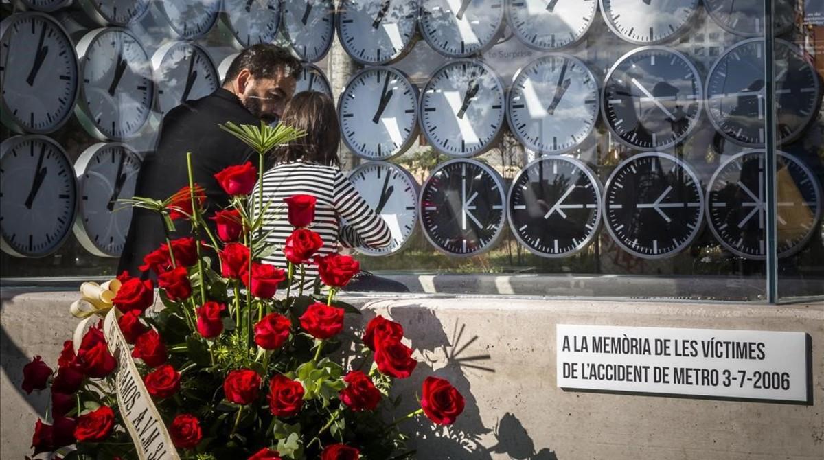 Monumento victimas metro la Asociacion de Victimas del Metro 3 de Julio