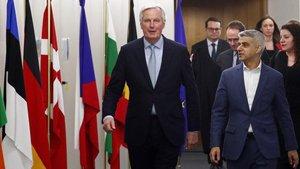 El negociador con el Reino Unido de la UE, Michel Barnier.