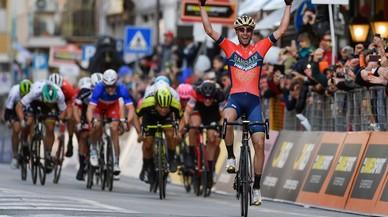 Nibali sorprende a los velocistas en la Milán San Remo